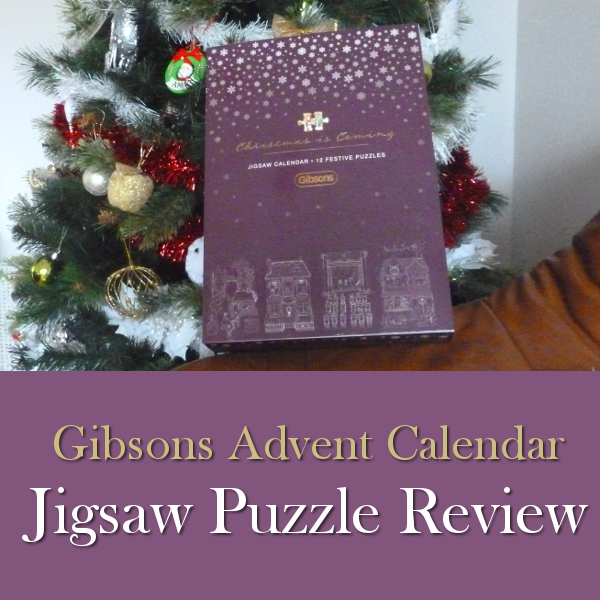 Gibsons Jigsaw Advent Calendar Review: 12 Puzzles to Count Your Way Down to Christmas countdown jigsaws mini miniature festive scenes