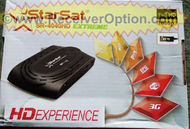 STARSAT SR-4040HD EXTREME RECEIVER NEW SOFTWARE V2.70