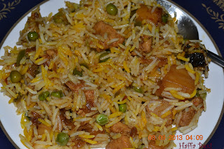 Rice| Chawal| Peas| Matar| Tahiri| Aalo| Biryani| Taheeri| Chicken| Murghi