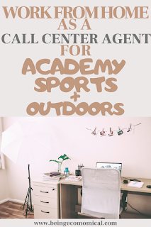 Work From Home With Academy Sports + Outdoors As A Call Center Agent