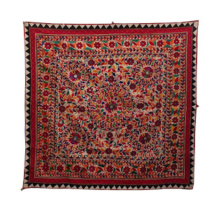 Wholesale Vintage Rare Hand Embroidered Tapestry Gypsy Kutch Wall Hanging