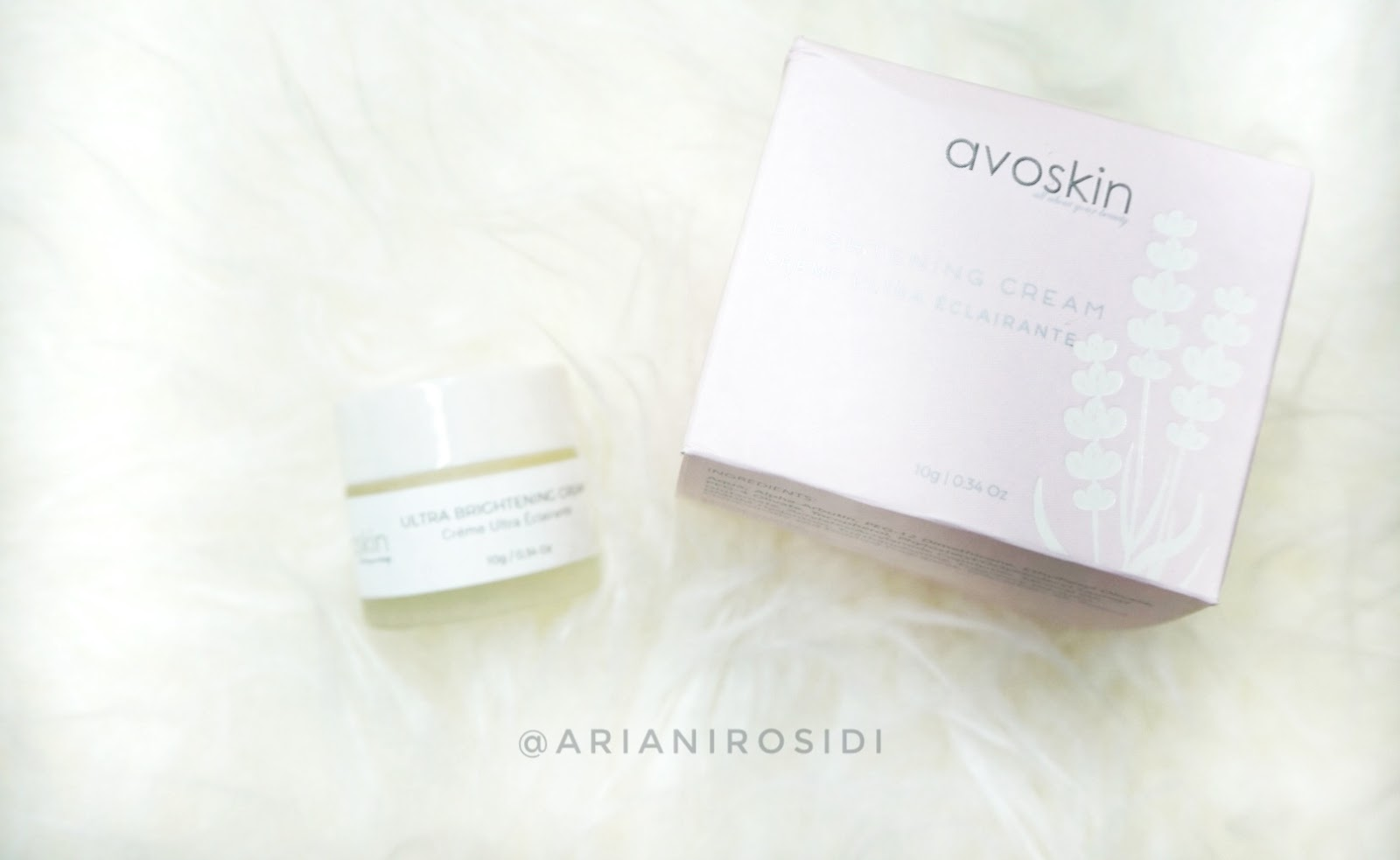 AVOSKIN ULTRA BRIGHTENING CREAM REVIEW