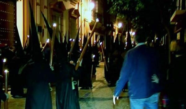 La Madrugá del pánico,  Sevilla, una persona grave
