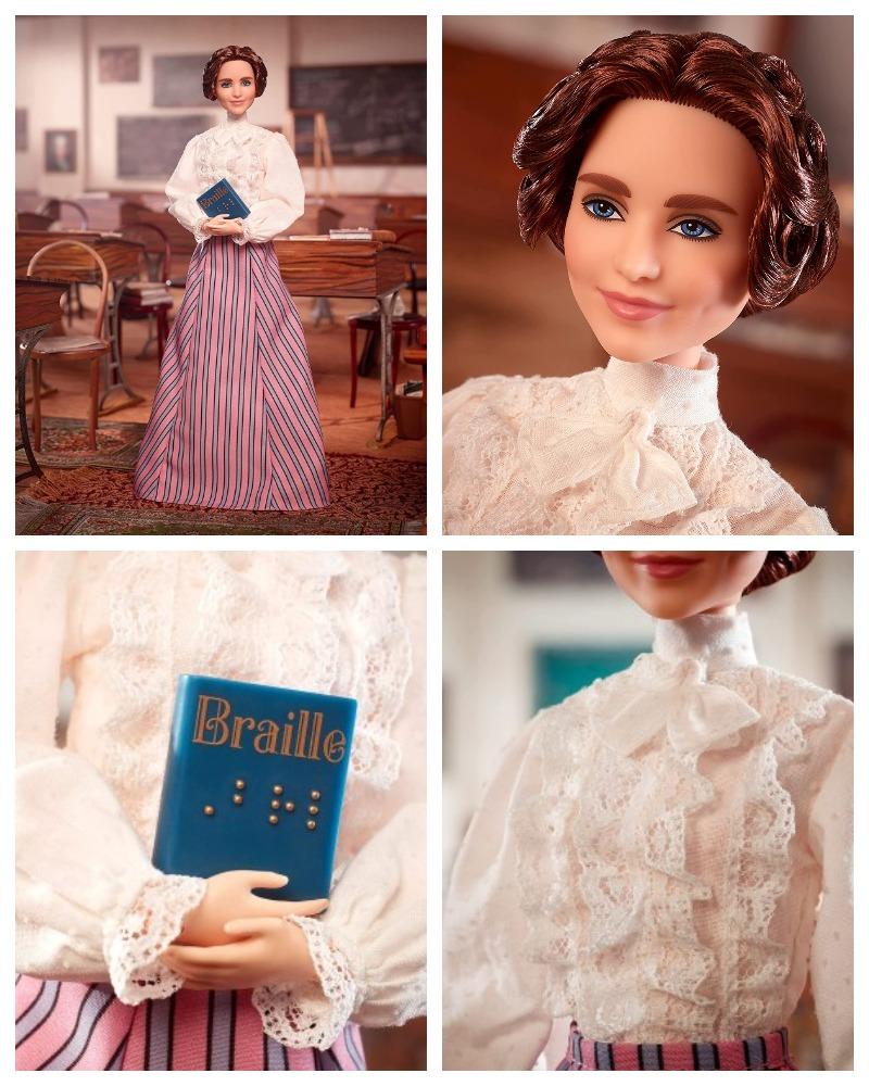 Helen Adams Keller Barbie® Doll