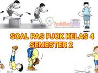 Soal PAS PJOK Kelas 4 SD/MI K13 Semester 2 dan Kunci Jawaban