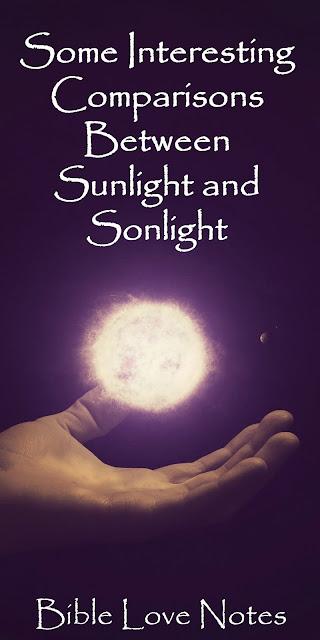 Interesting Comparisons Between Sunlight and Sonlight