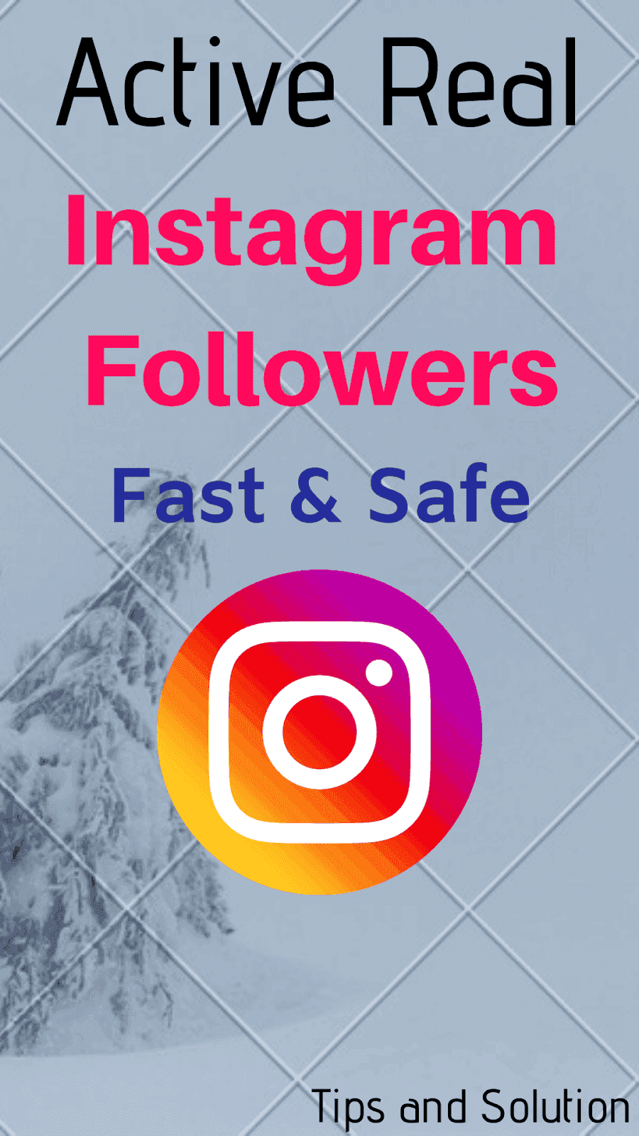 Active Real Instagram Followers Fast and Safe