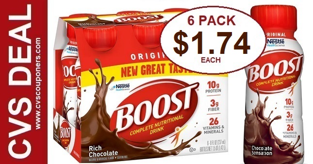 Boost Original Shakes CVS Deal 7-5-7-11