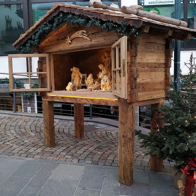 Natale in Valgardena il presepe