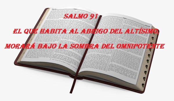 SALMO 91: EL QUE HABITA AL ABRIGO DEL ALTÍSIMO, MORARÁ BAJO LA SOMBRA DEL OMNIPOTENTE