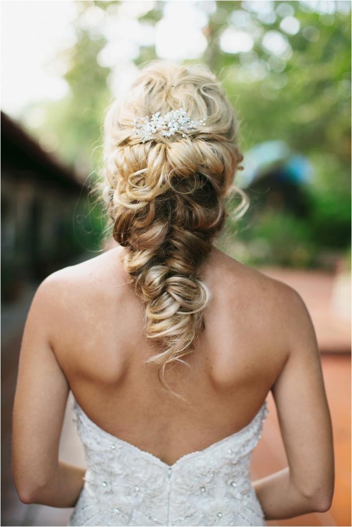 Bridal Hair Style | Rancho Las Lomas Wedding Inspiration by Damaris Mia Photography