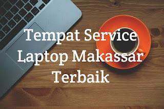 tempat service laptop makassar