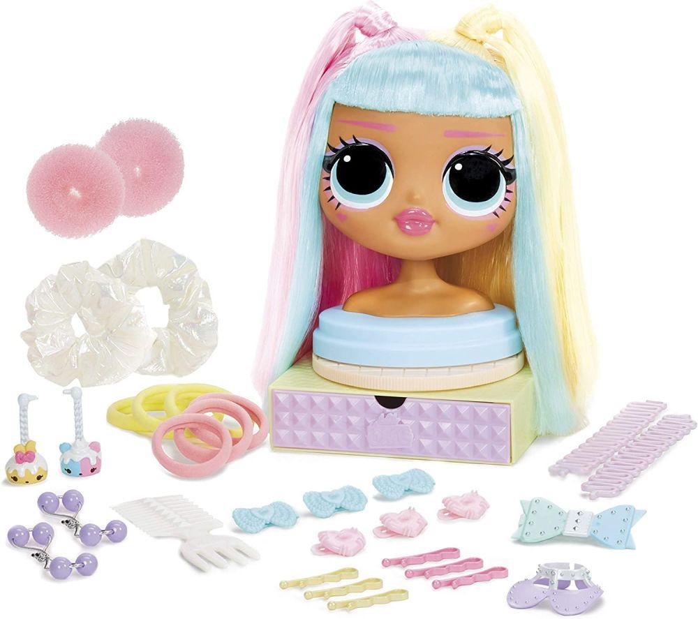 Манекен для причесок L.O.L. Surprise! OMG Styling Head Candylicious