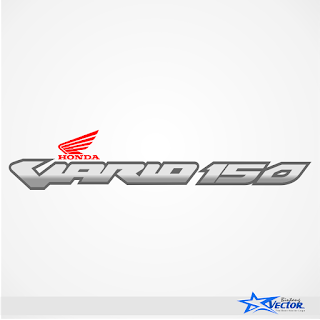 Honda Vario 150 Logo Vector cdr Download