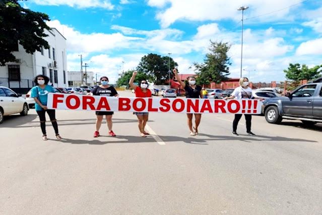 """""""FORA BOLSONARO"""" tem baixíssima adesão em Porto Velho e não registra manifestações no interior de Rondônia"""