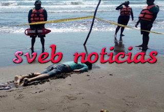 Hallan cuerpo de presunto ahogado en Chachalacas Veracruz