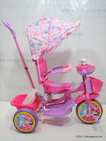 3 GoldBaby JT09 Winch Baby Tricycle in Pink