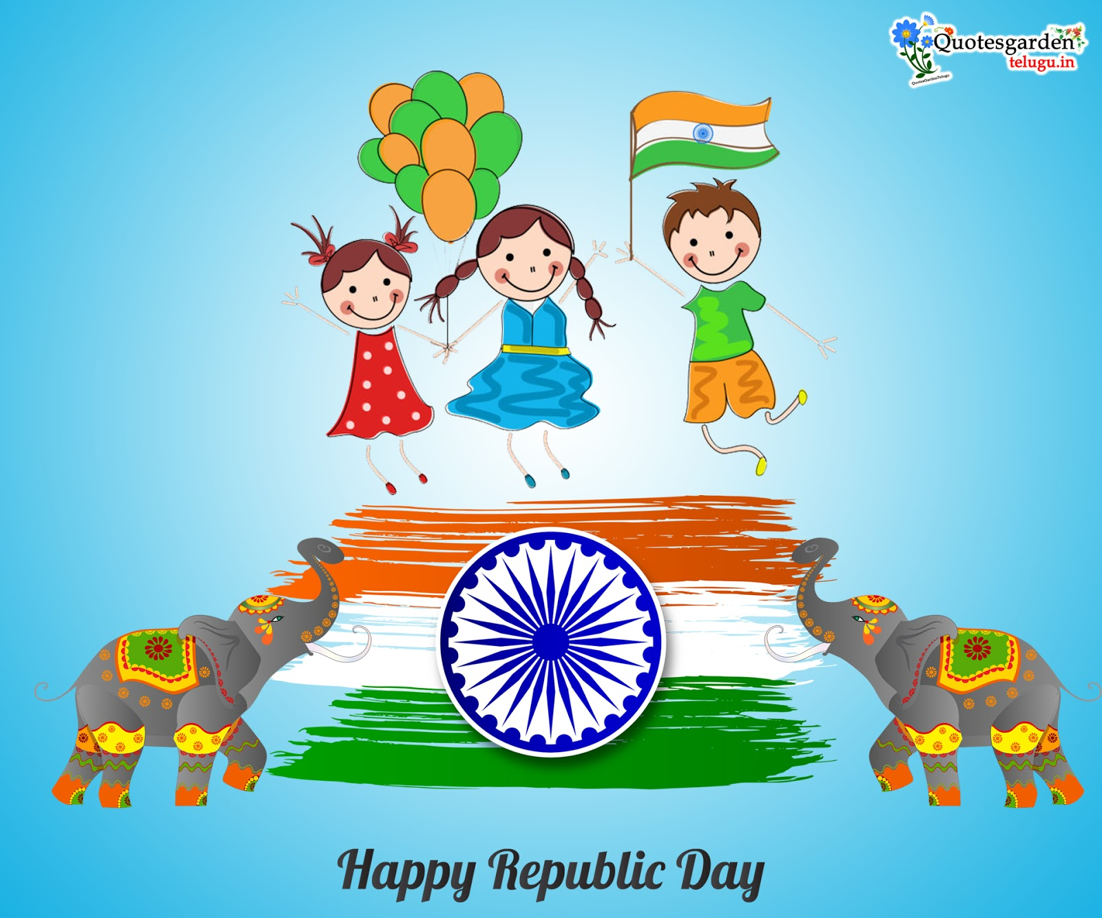 Happy republic day telugu greetings wishes images messages