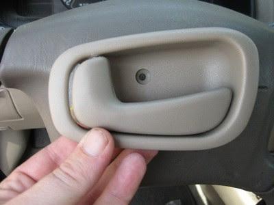 Interior Car Door Handle Repair