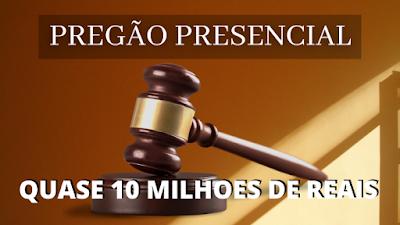 Prefeito de Canarana Bahia homologa pregão presencial que poderá chegar a 9 milhões de reais para atender demandas das unidades de saúde do município