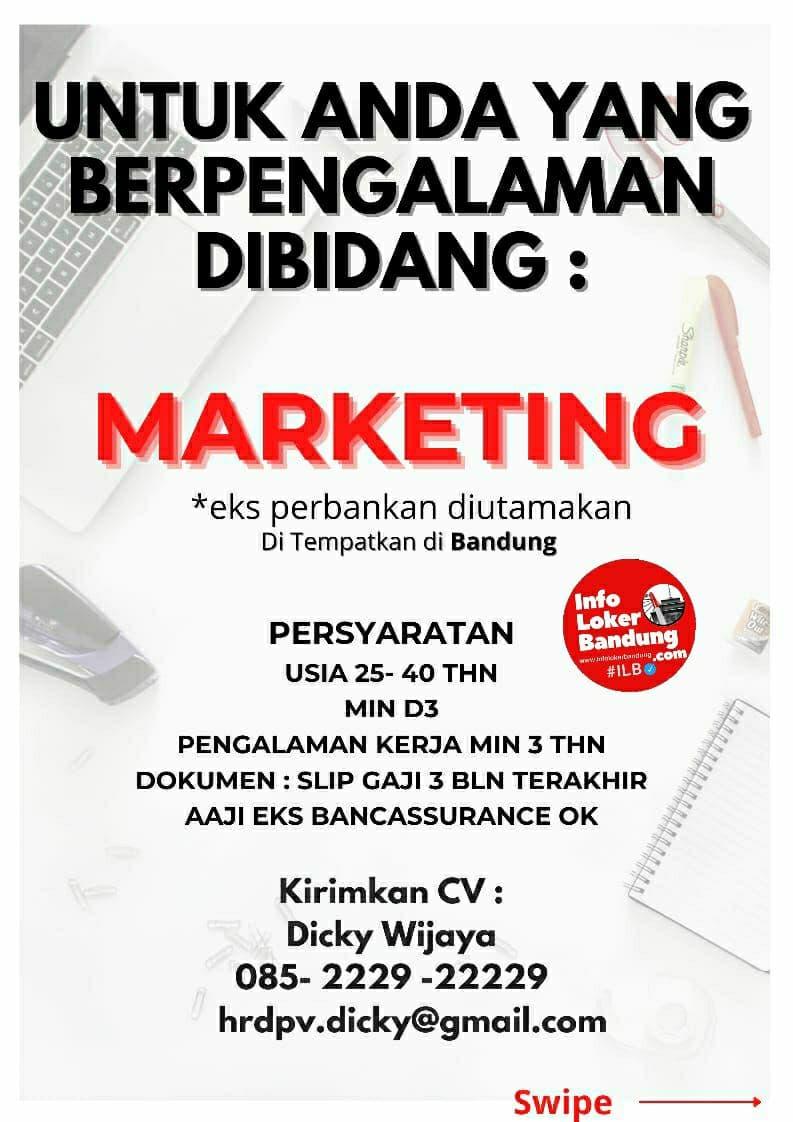 Lowongan Kerja Legacy.Inc by Prudential Bandung Agustus 2021