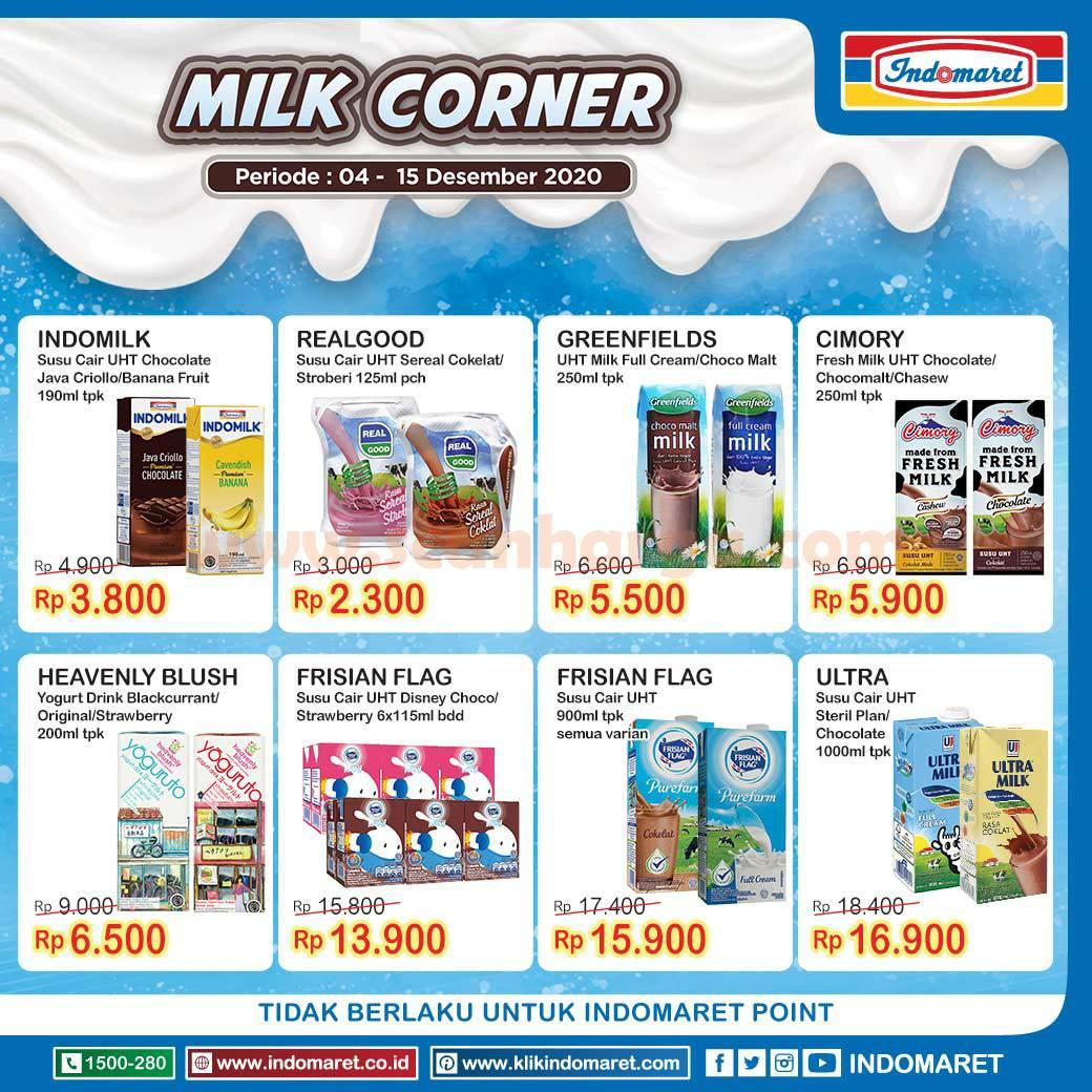 INDOMARET Promo Milk Corner Periode 4 - 15 Desember 2020 2