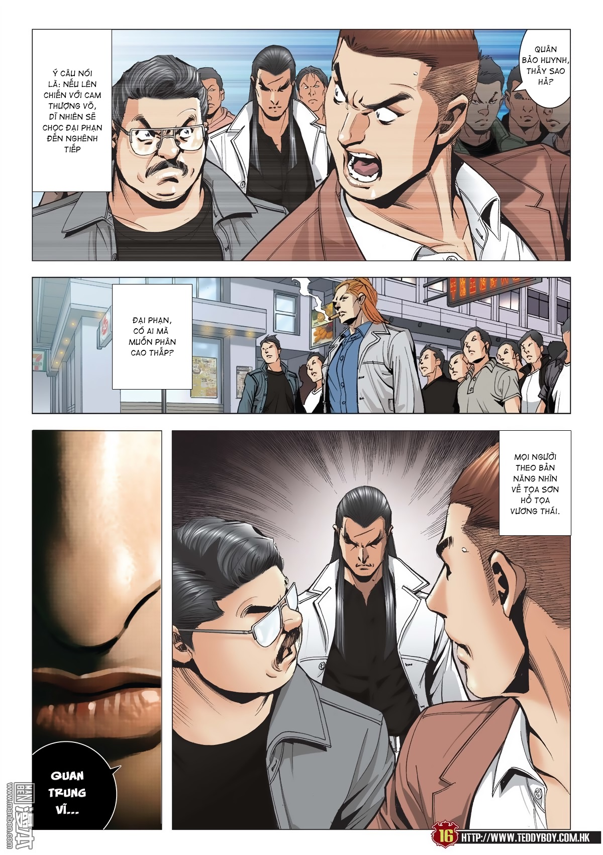 Người Trong Giang Hồ chapter 2015: tọa sơn hổ vs đại phạn trang 13