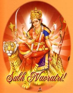 Navratri Festival or Happy Navaratri Festival