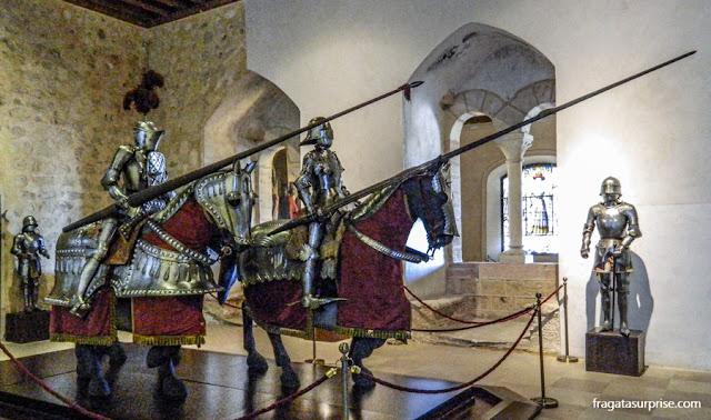 Coleção de armaduras do Alcázar de Segóvia