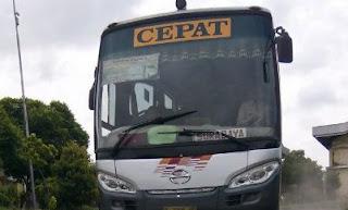 Gambar Bus Eka Cepat Magelang