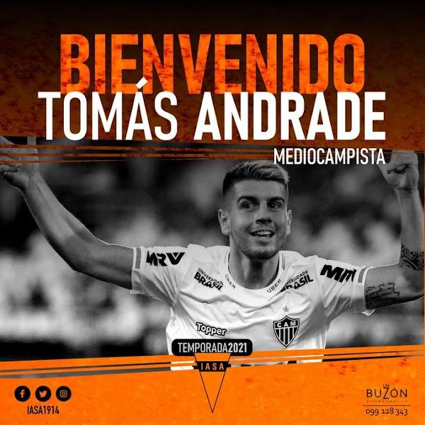 Oficial: Sud América, firma Tomás Andrade