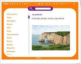http://www.primerodecarlos.com/TERCERO_PRIMARIA/GLOSARIO/index.html