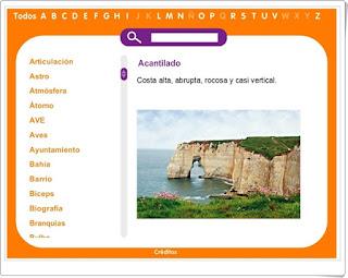 Editorial Santillana Glosario de términos de Ciencias Naturales y Ciencias Sociales Educación Primaria