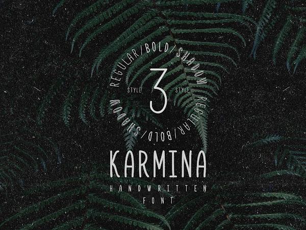 Download Karmina Beautiful Handwritten Font Free