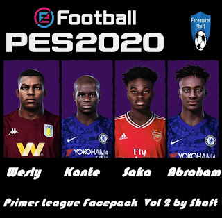 PES 2020 Premier League Facepack vol 2 by Shaft