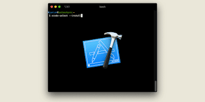How to install, update, and uninstall Xcode command line tools on macOS