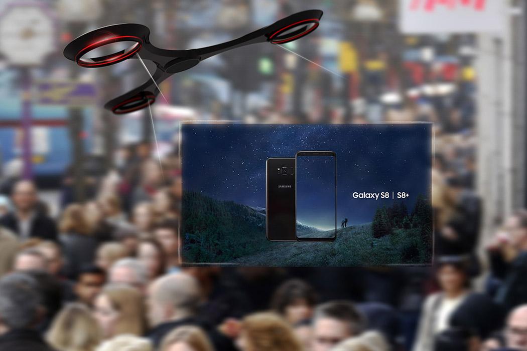ARON dron publicidad