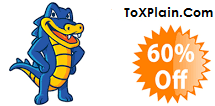 Hostgator 60% Off Discount Sale