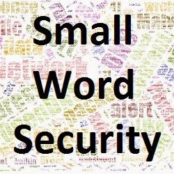 Small word security: security knowledge without all the big words