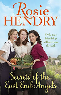 Book cover of Secrets Of The East End Angels by Rosie Hendry