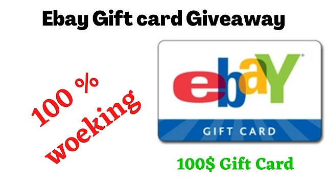 Get a eBay $100 Gift card