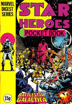Star-Heroes Pocket Book #2, Battlestar Galactica
