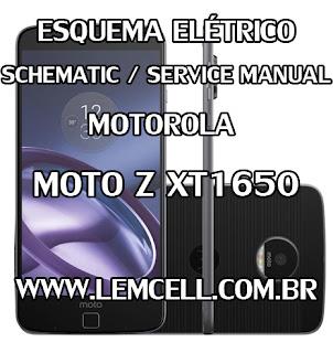 Esquema Elétrico Smartphone Celular Motorola Moto Z XT1650 Service Manual schematic Diagram Cell Phone Smartphone Motorola Moto Z XT1650 Esquema Eléctrico Smartphone Celular Motorola Moto Z XT1650 Manual de servicio