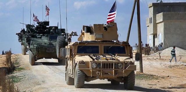 Merasa Tidak Aman, Pasukan AS Ditarik Mundur Dari Suriah