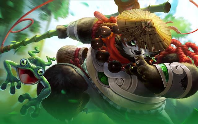 Akai Panda Warrior Heroes Tank of Skins Mobile Legends Wallpaper HD for PC