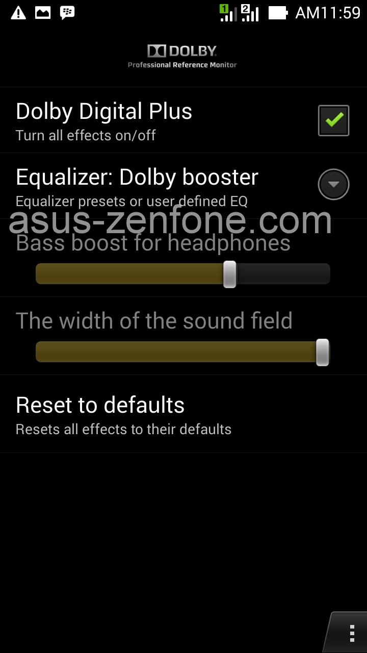 Dolby Digital for Asus Zenfone (NO Root) ~ Asus Zenfone Blog News