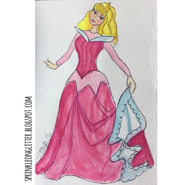 Sprinkle On Glitter Blog// Disney Princess//Sleeping Beauty