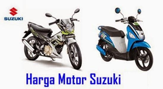 Daftar Harga Motor Baru Suzuki Terbaru Februari - Maret 2016