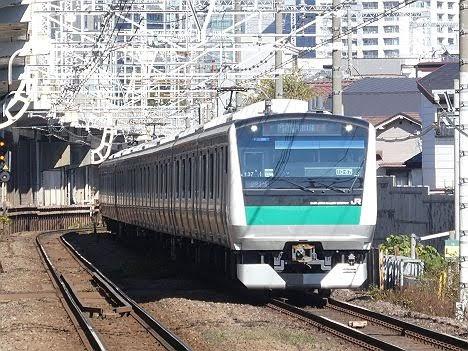 【ダイヤ改正で新設!】各駅停車 相鉄線直通を表示するE233系