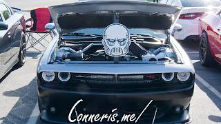TITAN Dodge Challenger RT Scat Pack Hood Prop